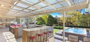 Polycarbonate Sheeting - Perfect for Your Entertainment Area